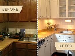 before u0026 after a drab kitchen gets a one day makeover u2013 design sponge