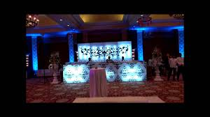 indian wedding reception decoration youtube