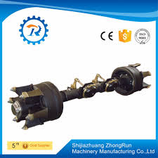 german style semi truck trailer axle high quality drum axle buy