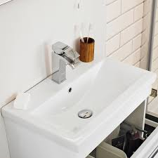 premier eden vanity unit vtww600 594mm wall mounted white