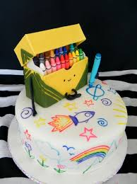 Where To Buy Cake Decorating Supplies Cute Crayon Cake Art Awesome Cakes Pinterest Crayon Cake