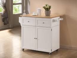 kitchen island with leaf kitchen cart with fold out top leaf