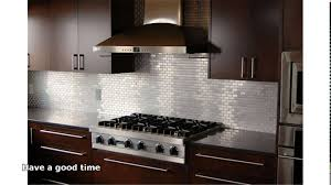 Stainless Steel Backsplash Kitchen by Kitchen Room Kitchen Blurred Kitchen Island Glass Doors Faced
