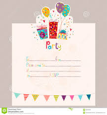 Sweet 15 Invitation Cards Happy Birthday Invitation Birthday Greeting Card With Gifts And