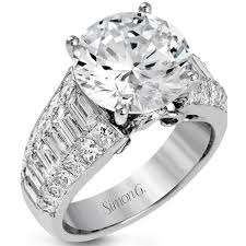 large diamonds rings images Big diamond engagement ring settings for your 2 3 or 4 carat jpg