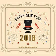 fuochi d artificio clipart sfondo vintage nuovo anno 2018 con fuochi d artificio scaricare