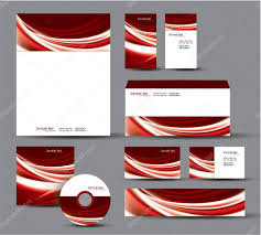 Business Card And Letterhead Design Template Modern Identity Package Vector Design Letterhead Business Cards