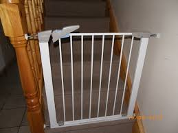 Baby Gates For Bottom Of Stairs With Banister Baby Stair Gate Designs Latest Door U0026 Stair Design