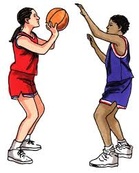 pictures of girls playing basketball free download clip art