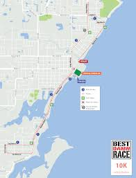 Tampa Bay Florida Map by Course Maps Best Damn Race Safety Harbor Fl