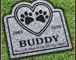 headstones for dogs pet headstone etsy