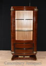 Art Deco Round Display Cabinet Art Deco Section Deco Furniture And Bronzes
