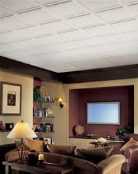 Affordable Basement Ideas by 2x4 Drop Ceiling Tiles That Don U0027t Look Like Drop Ceiling Love