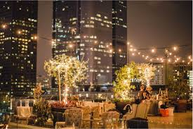 best wedding venues in los angeles bohemian rooftop event space perch los angeles