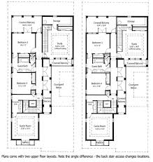 narrow floor plans plan 33046zr energy saving courtyard house plan courtyard house