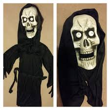 Grim Reaper Costume Find More Bobblehead Grim Reaper Costume For Sale At Up To 90 Off