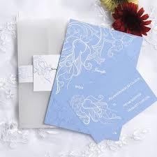 Affordable Pocket Wedding Invitations Vintage Powder Blue Pocket Wedding Invitation Cards Ewpi059 As Low