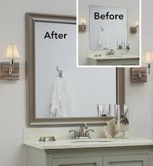 Decorate A Bathroom Mirror | ways to decorate a bathroom mirror bathroom mirrors ideas