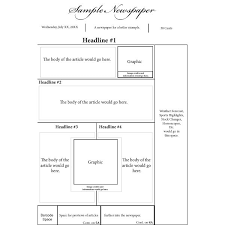 sample blank newspaper pin by greta laman on layout and grids pinterest