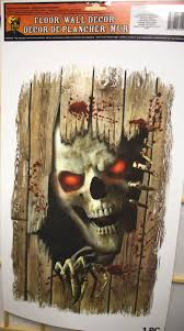 haunted house halloween decorations werewolf big bad wolf wall door horror prop halloween decoration