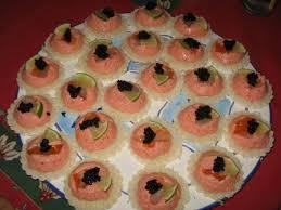 canapé tarama tartelettes de tarama et de haddock fumé bienvenue chez tatagateaux