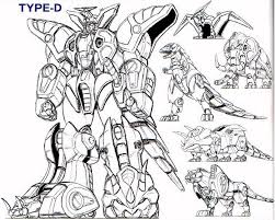 majestic megazord coloring pages 18 power rangers 64