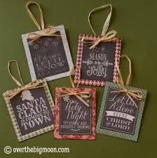 turn free printables into ornaments a roundup of free chalkboard