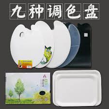Toner Oval usd 6 00 plastic oval square water powder palette palette palette