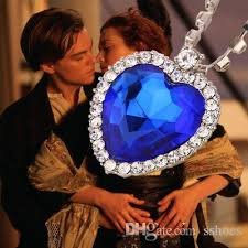 necklace titanic images Wholesale crystal chain the heart of the ocean necklace luxurious jpg