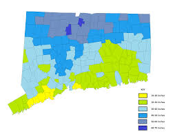 Connecticut Map Usa by Fileunited States Average Annual Snowfalljpg Wikimedia Commons