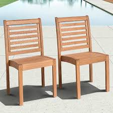 Eucalyptus Patio Furniture Cabela Set Of 2 Eucalyptus Stackable Patio Chairs 3v815 Lamps