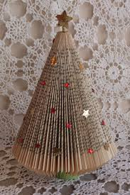christmas book tree christmas lights decoration