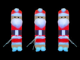 how to make a cute santa claus christmas crafts decorating ideas