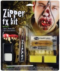 deluxe fx zipper kits assortment halloween