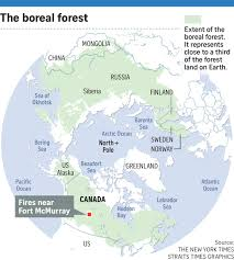 Where Is Fort Mcmurray On A Map Of Canada Canada U0027s Wildfires Stark Reminder Of Climate Change Threat World