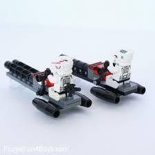 to build lego star wars speeders