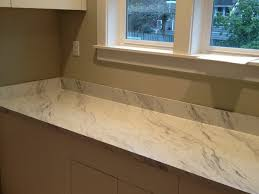 Carrara Marble Laminate Countertops - kitchen countertop carrara marble backsplash wilsonart