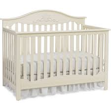Convertible White Crib Fisher Price 4 In 1 Convertible Crib Snow White Walmart