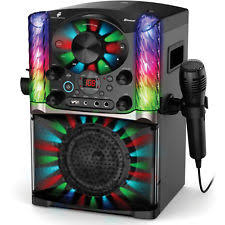 light up karaoke machine the voice karaoke with microphone lights up front loading party
