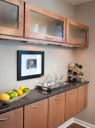 Kitchen Cabinets Glass Inserts Frosted Glass Cabinet Doors