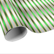 shiny wrapping paper glitzy stripes christmas wrapping paper whimsicalartwork