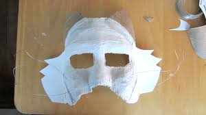 paper halloween mask halloween mask hodgepodgereel