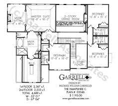 hampshire c house plan house plans by garrell associates inc