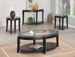 Livingroom Table Sets Black Coffee Table Sets With End Tables Eva Furniture