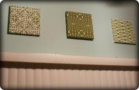 Kitchen Wall Decorating Ideas Themes Fabric Wall Art Diy My Retro Kitchen
