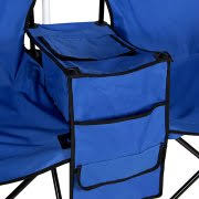 Lawn Chair With Umbrella Attached Best Choice Products Picnic Double Folding Chair With Umbrella