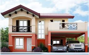 house and homes camella homes gavina model house and lot for sale front view jpg