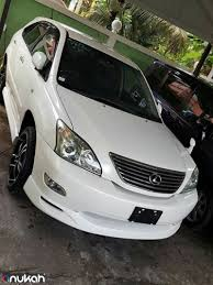 kingston lexus used cars 2008 toyota harrier lexus rx 2400cc cars u0026 vehicles st lucia