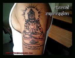 trucraristi hanuman tattoo