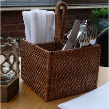 Bamboo Silverware Holder Rattan Cutlery Holder Cutlery Holder Ideas Pinterest Cutlery